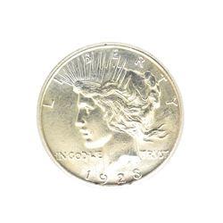 Rare 1923-S U.S. Peace Type Silver Dollar