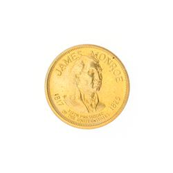President James Monroe US Mint Commemorative Coin