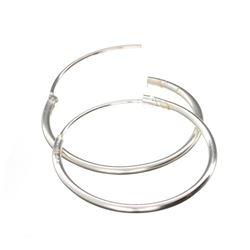 Fine Jewelry Designer Sebastian, Exquisite Sterling Silver Earrings