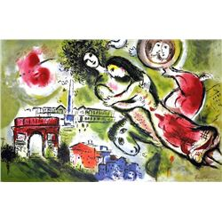 MARC CHAGALL (After) Romeo and Juliet Print, I409 of 500