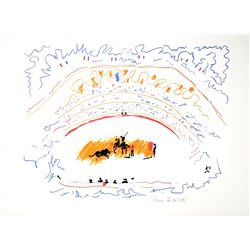 PABLO PICASSO (After) Corrida Lithograph, 211 of 500