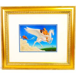 DISNEY (After) ''Hurcules'' Rare Museum Framed 21x19 Ltd. Edition (Dimensions Are Approximate)