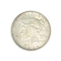 Rare 1922-D U.S. Peace Type Silver Dollar