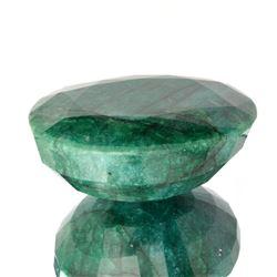 Est. Value 4.2K - 7.0K 1755.50CT Oval Cut Green Beryl Emerald Gemstone