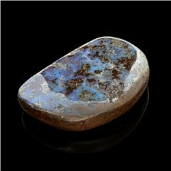 APP: 4.7k 38.10CT Freeform Natural Form Multi-Colored Boulder Opal Gemstone