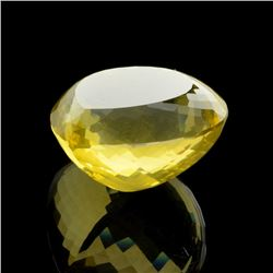 APP: 9.8k 114.00CT Pear Cut Golden Citrine Quartz Gemstone