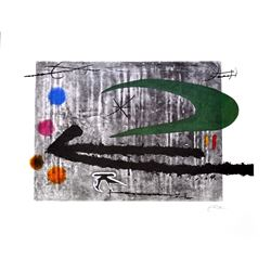 JOAN MIRO (After) Toward the Left Print, 342 of 500