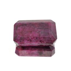 APP: 1.7k 670.00CT Retangular Step Cut Ruby Gemstone