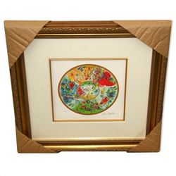 Chagall (After) 'Paris Opera Ceiling' Framed Giclee-Ltd Edn