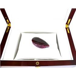 APP: 1k 250.55CT Pear Cut Ruby Gemstone