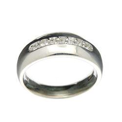 Fine Jewelry Designer Sebastian, Topaz And Sterling Silver Ring