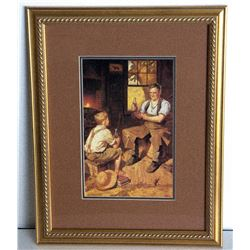Museum Framed Coca-Coca Advertising  10x14