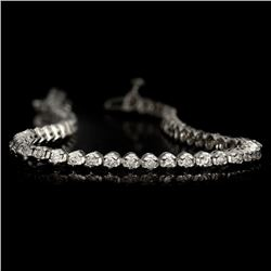 APP: 5.5k *Fine Jewelry 14KT White Gold, 2.00CT Round Brilliant Cut Diamond Bracelet (VGN A-37) (Vau