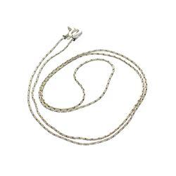 Fine Jewelry Designer Sebastian, 18'' Sterling Silver Chain