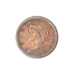 1856 Large Cent Coin