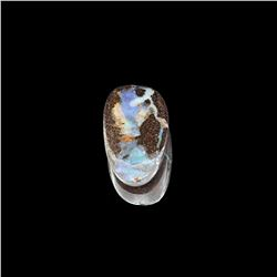 Gorgeous 15.35CT Rare Boulder Opal Gemstone