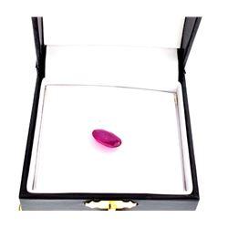 APP: 1.4k 5.50CT Oval Cut Ruby Gemstone