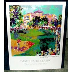Hand Signed LeRoy Neiman: Westchester Classic