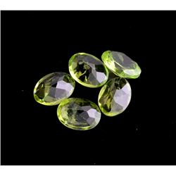 APP: 1.1k 5.63CT Oval Cut Green Peridot Parcel