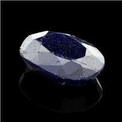 APP: 2k 39.98CT Oval Cut Blue Sapphire Gemstone
