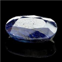 APP: 1.3k 26.32CT Oval Cut Blue Sapphire Gemstone