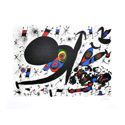 JOAN MIRO (After) Homage To Joan Pratt Print, 361 of 500
