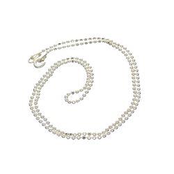Fine Jewelry Designer Sebastian, 16'' Italian Sterling Silver Chain