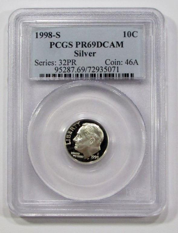 PR69DCAM 2005-S Roosevelt Dime Silver PCGS