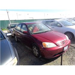 HONDA CIVIC 2002 SALV T/DONATION