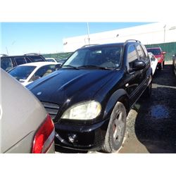 MERCEDES ML55 2001 L/S-DONATION