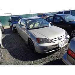 HONDA CIVIC 2003 SALV T/DONATION