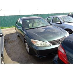 TOYOTA CAMRY 2004 T-DONATION