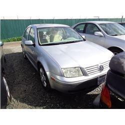 VW JETTA 1999 T-DONATION