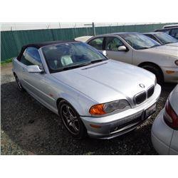 BMW 330CI 2001 T-DONATION