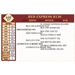 Lot - 57 - RED EXPRESS 8130