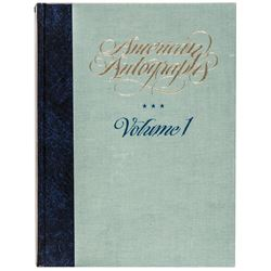 (Charles Hamilton) 1983-Dated First Edition Two Volume Set: American Autographs