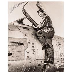 Atom Bomb Pilots: Enola Gay PAUL TIBBETTS+Bockscar CHARLES SWEENEY 4 Signed Pics