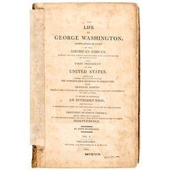 THE LIFE OF GEORGE WASHINGTON, 1st Edition 1804-1807 Complete 5-Vol. Set W/Atlas