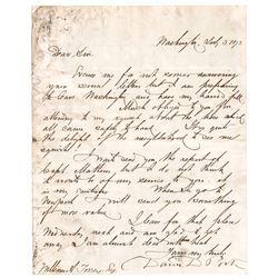 DAVID DIXON PORTER Autograph Letter Signed Civil War Union Navy Admiral