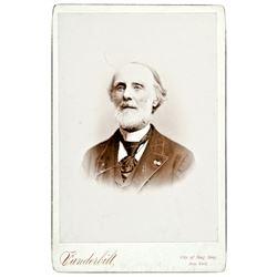 Civil War Union General Alexander Hamilton c. 1875 Cabinet Card Photograph