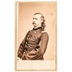 c. 1864 General George Armstrong Custer Original CDV Photograph by Mathew Brady
