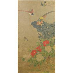 Zhu Xiaochun 1729-1784 Chinese Watercolor Scroll