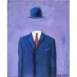 Rene Magritte Belgian Surrealist OOC Portrait