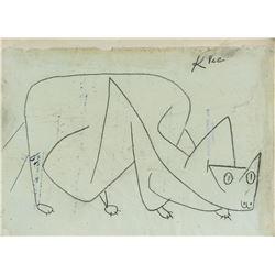 Paul Klee Swiss Expressionist Surrealist Graphite