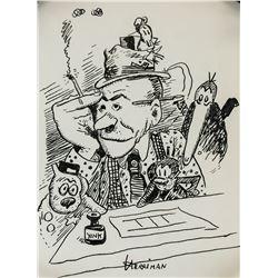 George Herriman American Pop Art Ink on Paper