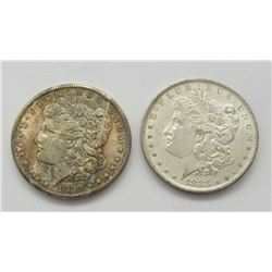 1883-O & 1899-O BU MORGAN DOLLARS
