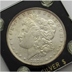 1878 7TF REV '79 MORGAN DOLLAR AU/UNC