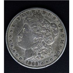 1888-S MORGAN DOLLAR FINE+
