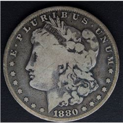 1880-CC MORGAN DOLLAR GOOD