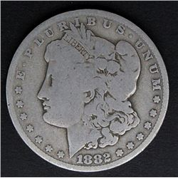 1882-CC MORGAN DOLLAR VG